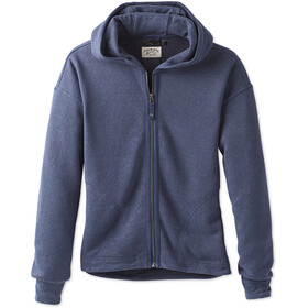 Prana W's Cozy Up Zip Up Jacket Equinox Blue Heather